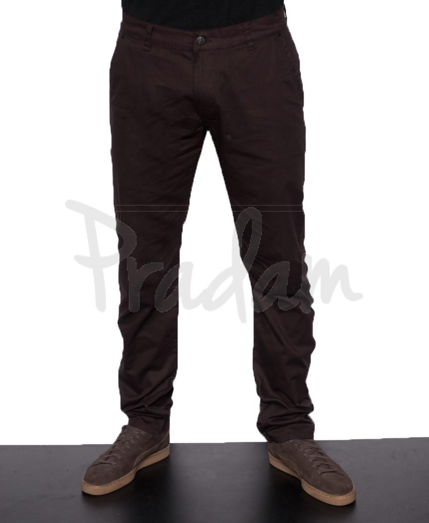 0015-1 (V015-1) Big Wood брюки мужские коричневые весенние стрейчевые (29-38, 8 ед.)