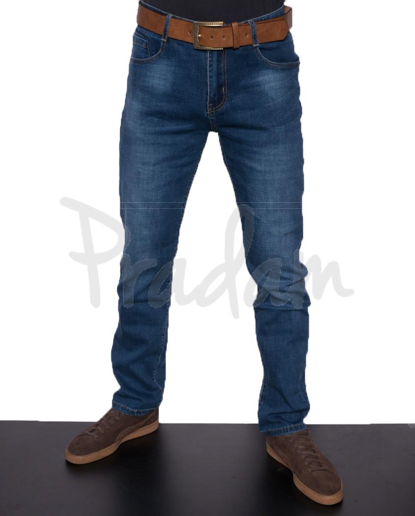2527 Viman джинсы мужские с ремнем весенние стрейчевые (30-38, 12 ед.)