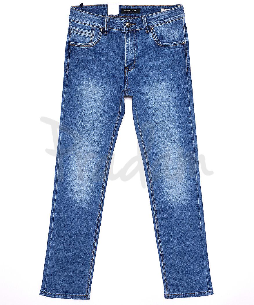 9175 God Baron джинсы мужские батальные весенние стрейчевые (32-38, 8 ед.)