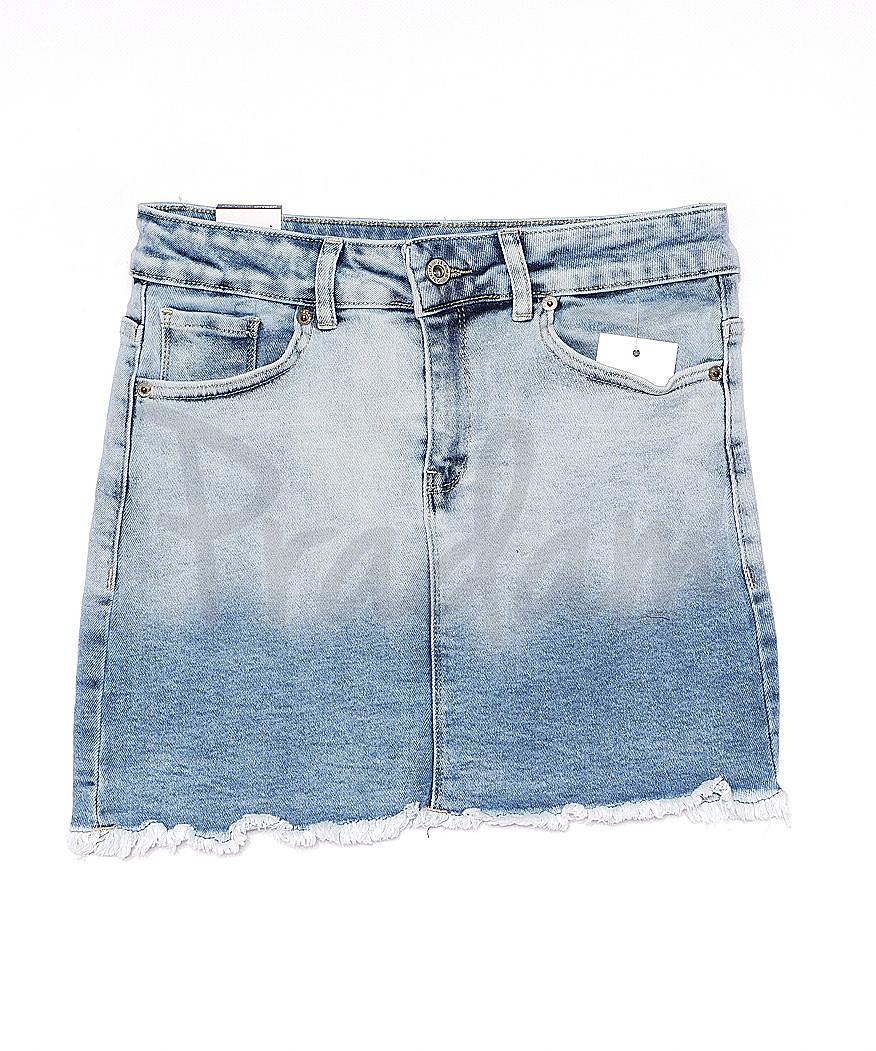 0058-1 (E58 (1)) Ondi юбка джинсовая стильная стрейчевая (36-42, евро, 5 ед.)