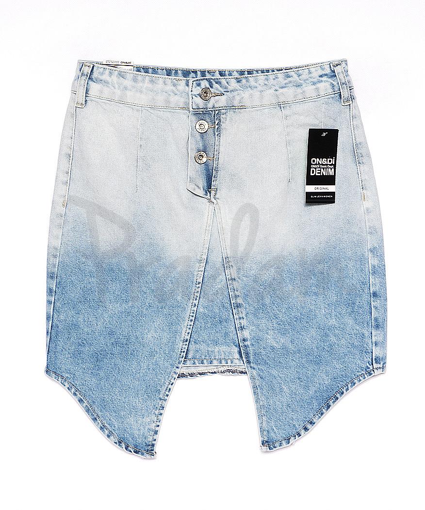 0056-1 (E56 (1)) Ondi юбка джинсовая стильная котоновая (36-42, евро, 5 ед.)