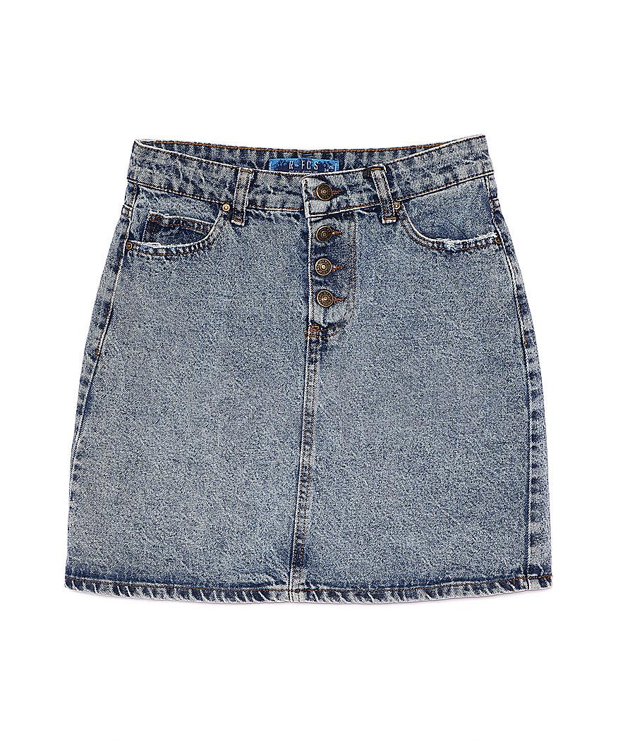 6004-2 Real Focus юбка джинсовая котоновая (26-30, 5 ед.)
