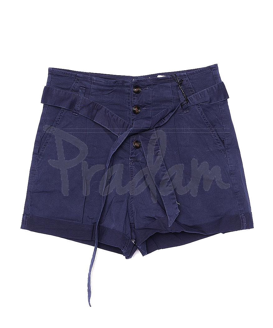 0156-3 Saint Wish шорты женские темно-синие стрейчевые (S-2XL, 5 ед.)