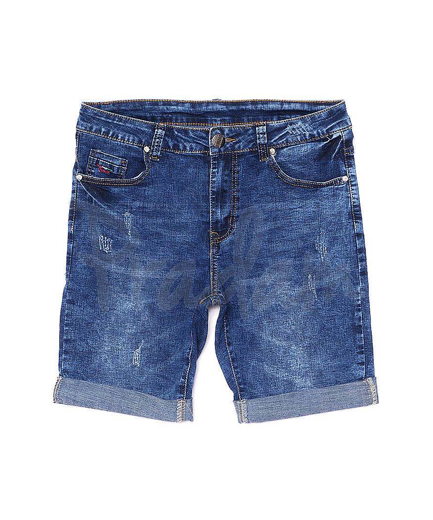 5075 New jeans шорты джинсовые мужские с царапками стрейчевые (29-38, 8 ед.)