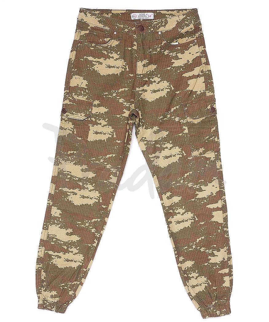 1164 Miele брюки женские камуфляжные летние котоновые (34-44, евро, 8 ед.)