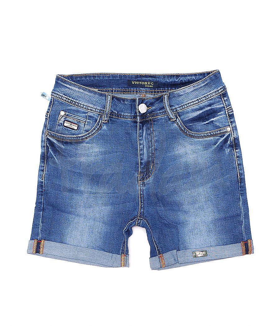 8209-3 Victory.C шорты джинсовые женские батальные стрейчевые (30-36, 6 ед.)