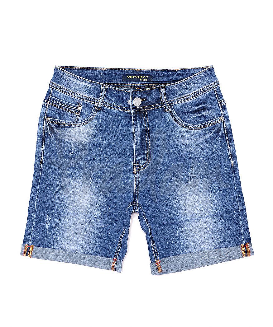 8205-3 Victory.C шорты джинсовые женские батальные стрейчевые (30-36, 6 ед.)