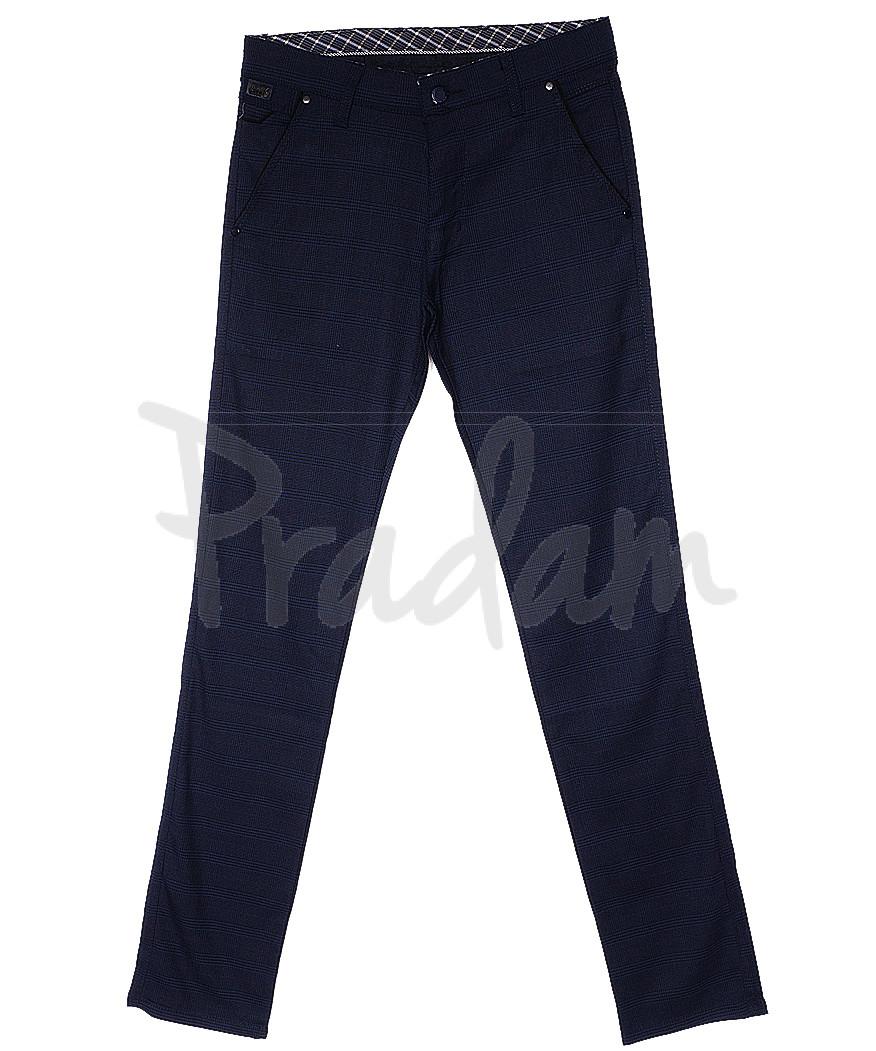 0063 A.L. sivash desnli Big Jesuis брюки мужские темно-синие весенние стрейч-котон (30-36, 8 ед.)