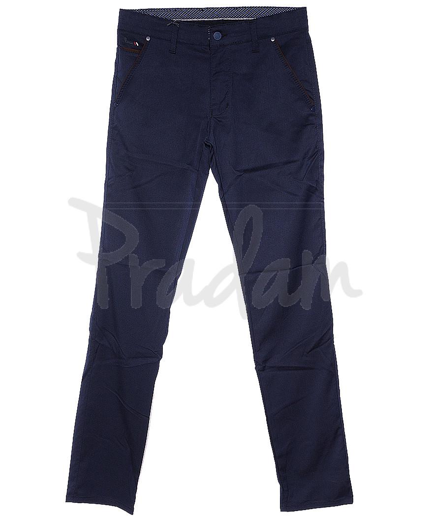 0970 L.T. Big Rodoc брюки мужские темно-синие весенние стрейч-котон (30-36, 8 ед.)