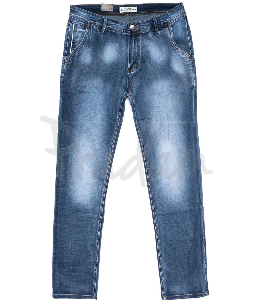 0402 Vicucs джинсы мужские летние стретчевые (29-38, 8 ед.)
