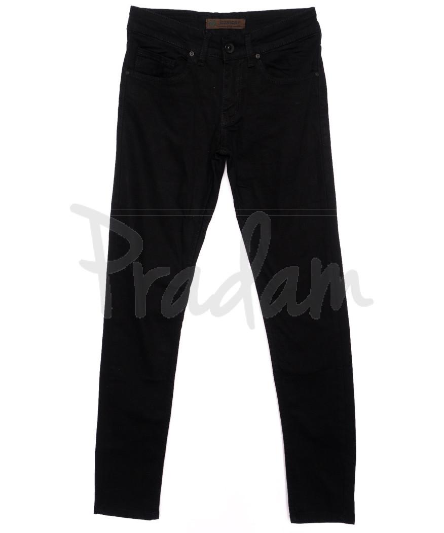 1697 Konica джинсы мужские черные осенние стрейчевые (29-34, 7 ед.)