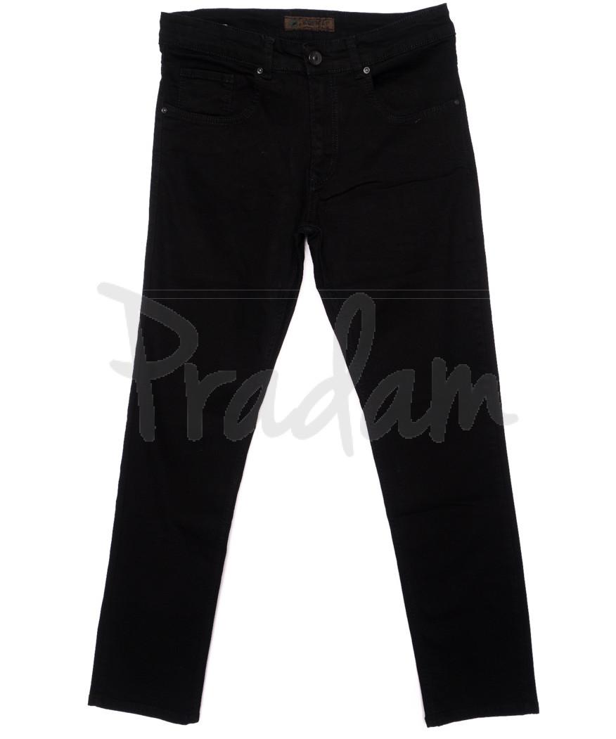 1278 Konica джинсы мужские черные осенние стрейчевые (31-34, 6 ед.)