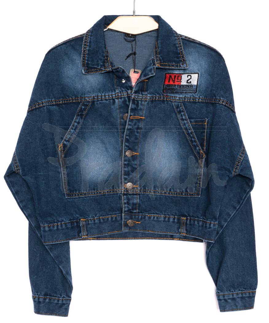 2200 Relucky куртка джинсовая женская короткая осенняя котоновая (S-L, 6 ед.)