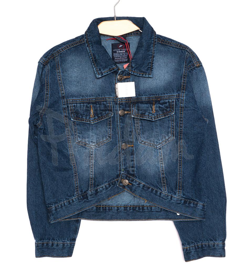 A 0216-1 Relucky куртка джинсовая женская короткая осенняя котоновая (S-3XL, 6 ед.)