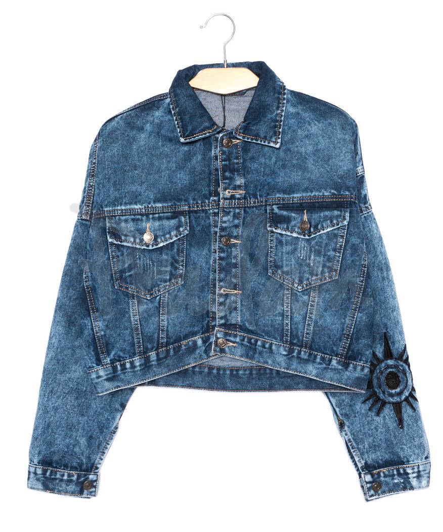 2100 Relucky куртка джинсовая женская короткая осенняя котоновая (S-L, 6 ед.)