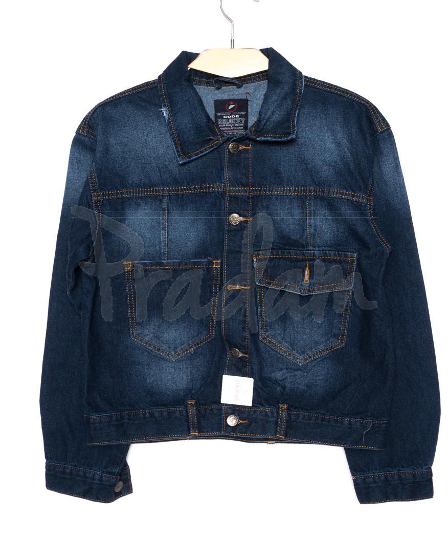 0217-1 Relucky куртка джинсовая женская короткая осенняя котоновая (S-3XL, 6 ед.)