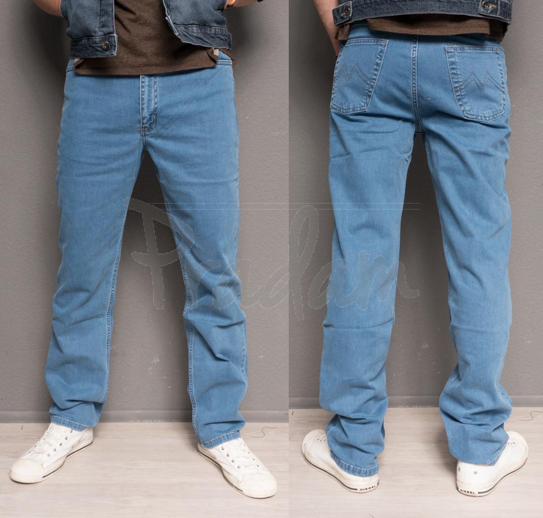 0435-B L.V.D. джинсы мужские батальные весенние стрейч-котон (36-42, 6 ед.)