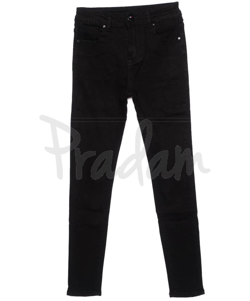 3315 New jeans джинсы женские черные осенние стрейчевые (25-30, 6 ед.)