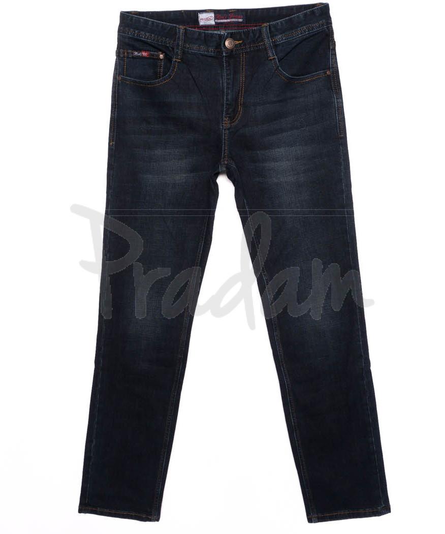 0205 Rodi джинсы мужские батальные темно-синие осенние стрейчевые (32-38, 8 шт.)