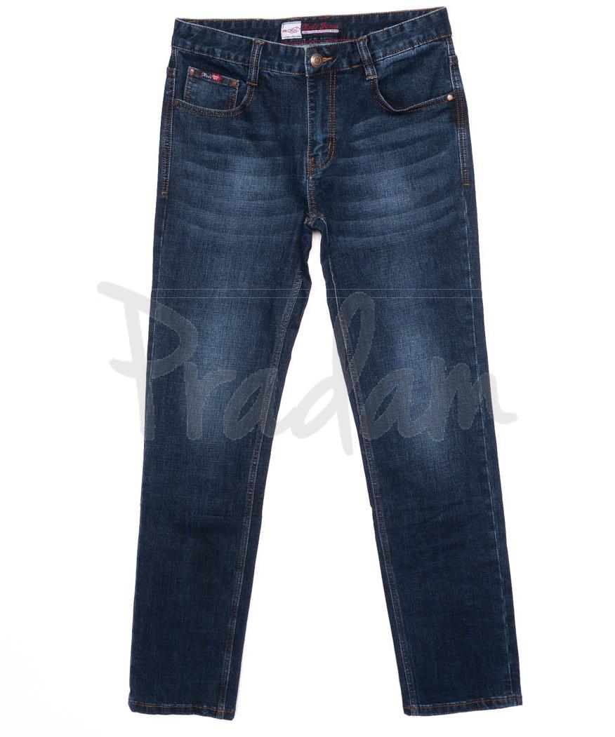 0207 Rodi джинсы мужские батальные темно-синие осенние стрейчевые (32-38, 8 шт.)