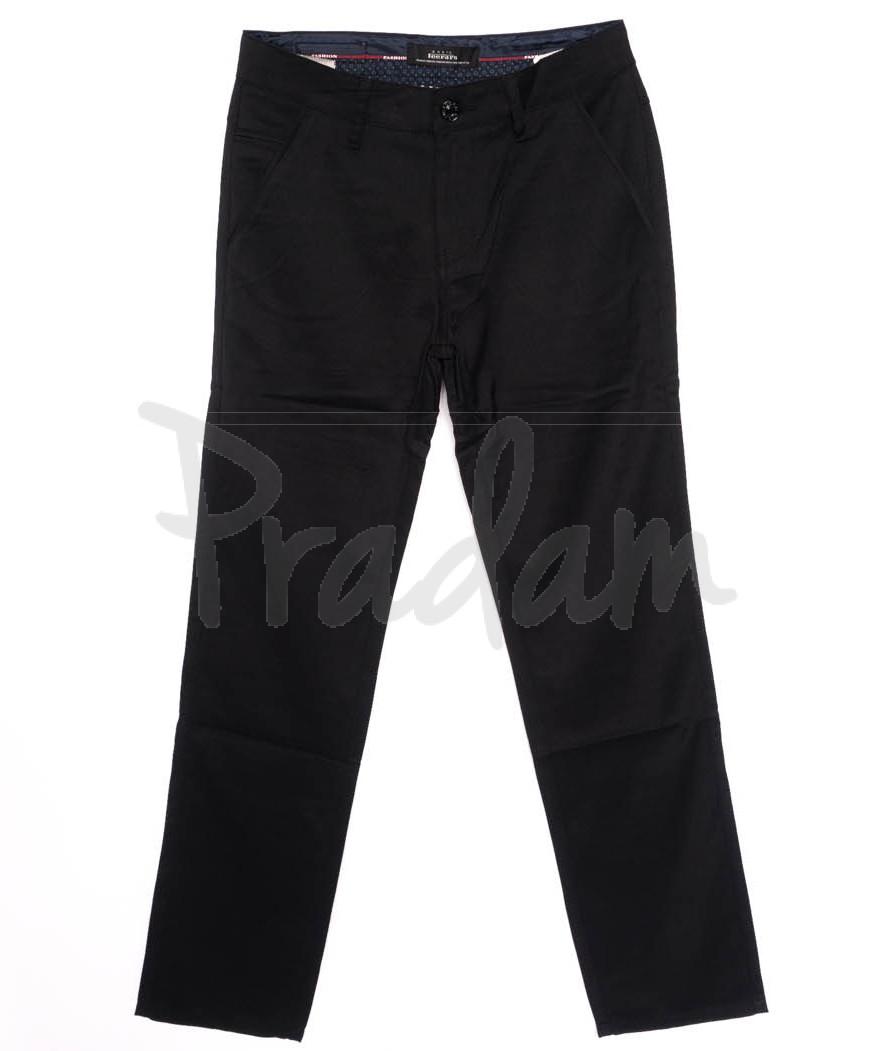 0037-K1 New Feerars джинсы мужские молодежные черные осенние стрейчевые (27-34, 8 ед.)