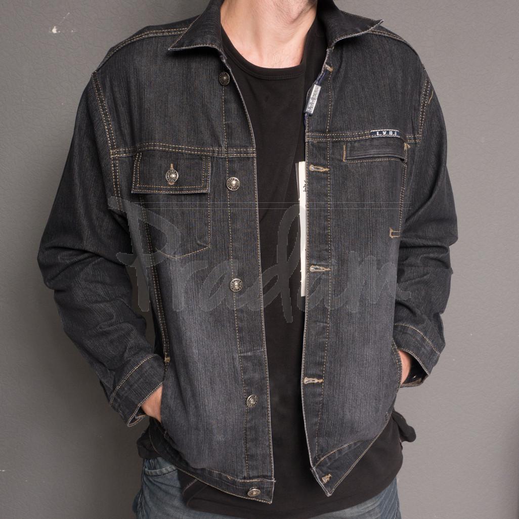0804-1 L.V.D. куртка джинсовая на мальчика осенняя стрейчевая (28-31, 4 ед.)