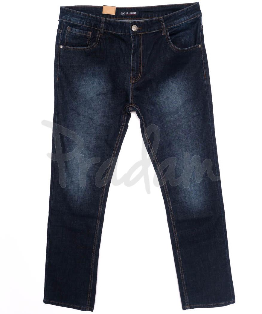 1022 LS джинсы мужские синие осенние стрейчевые (34-42, 8 ед.)
