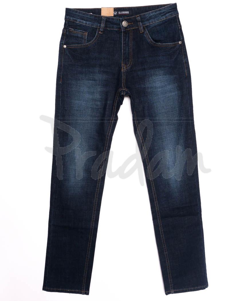 1020 LS джинсы мужские синие осенние стрейчевые (29-38, 8 ед.)