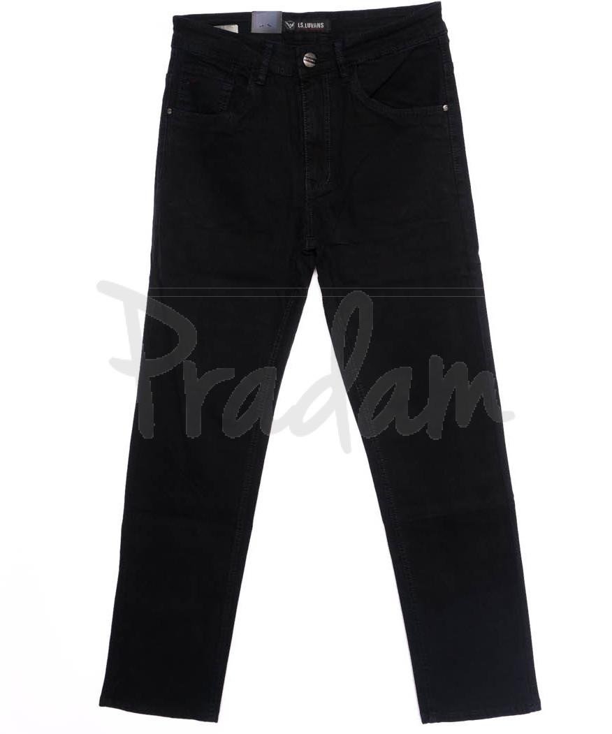 10261 LS джинсы мужские черные осенние стрейчевые (29-38, 8 ед.)