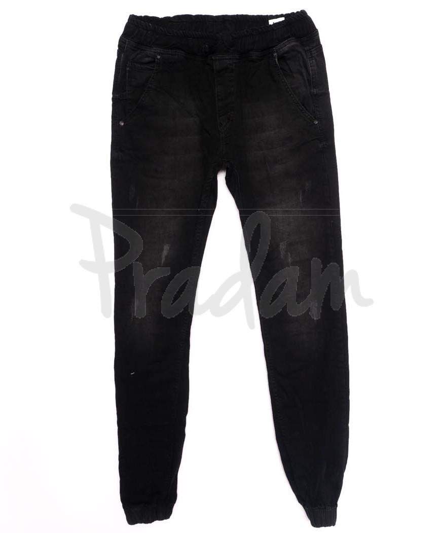 4936 Denim джинсы мужские с царапками на резинке осенние стрейчевые (29-36, 8 ед.)