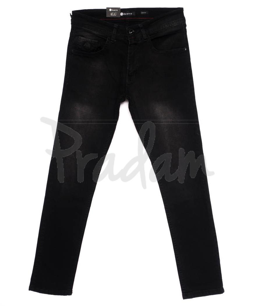 10980 Azarro джинсы мужские темно-серые осенние стрейчевые (29-36, 8 ед.)