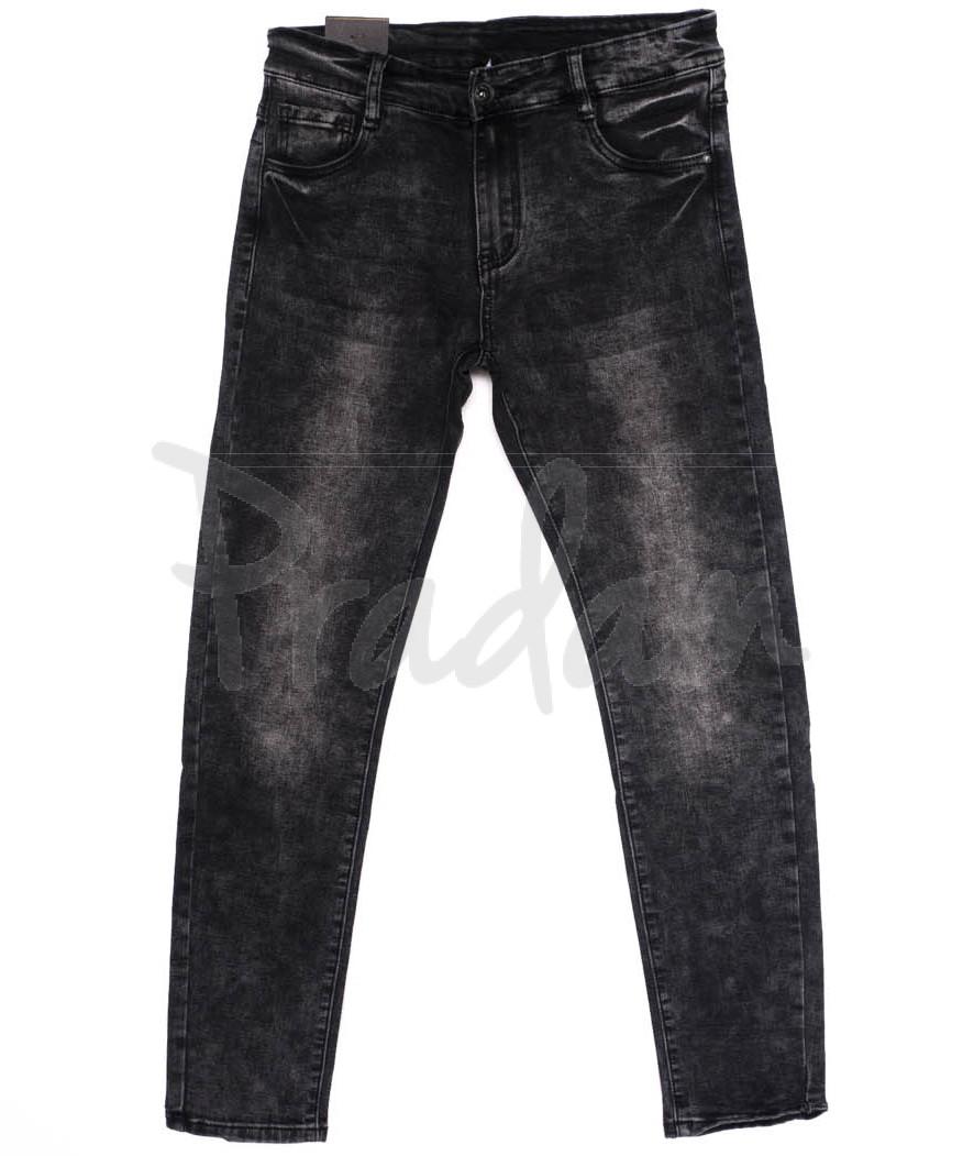 1921-1 Viman джинсы мужские серые осенние стрейчевые (29-36, 6 ед.)