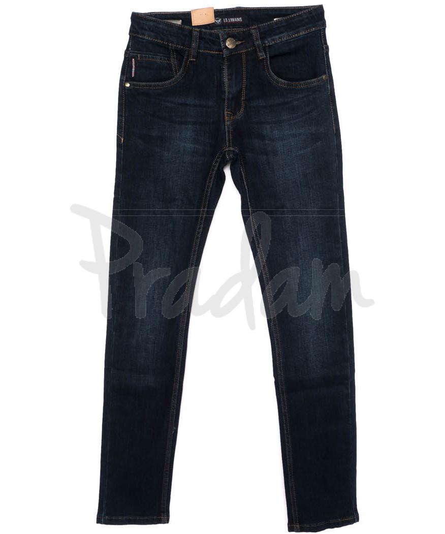 120245 LS джинсы мужские молодежные синие осенние стрейчевые (27-34, 8 ед.)