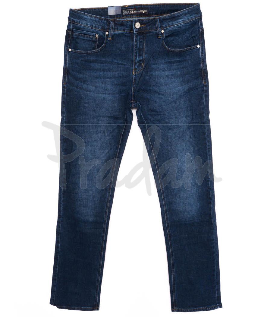 7007 Dgaken джинсы мужские батальные синие осенние стрейчевые (32-38, 8 ед.)