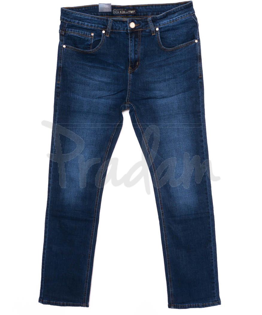7006 Dgaken джинсы мужские батальные синие осенние стрейчевые (33-40, 8 ед.)