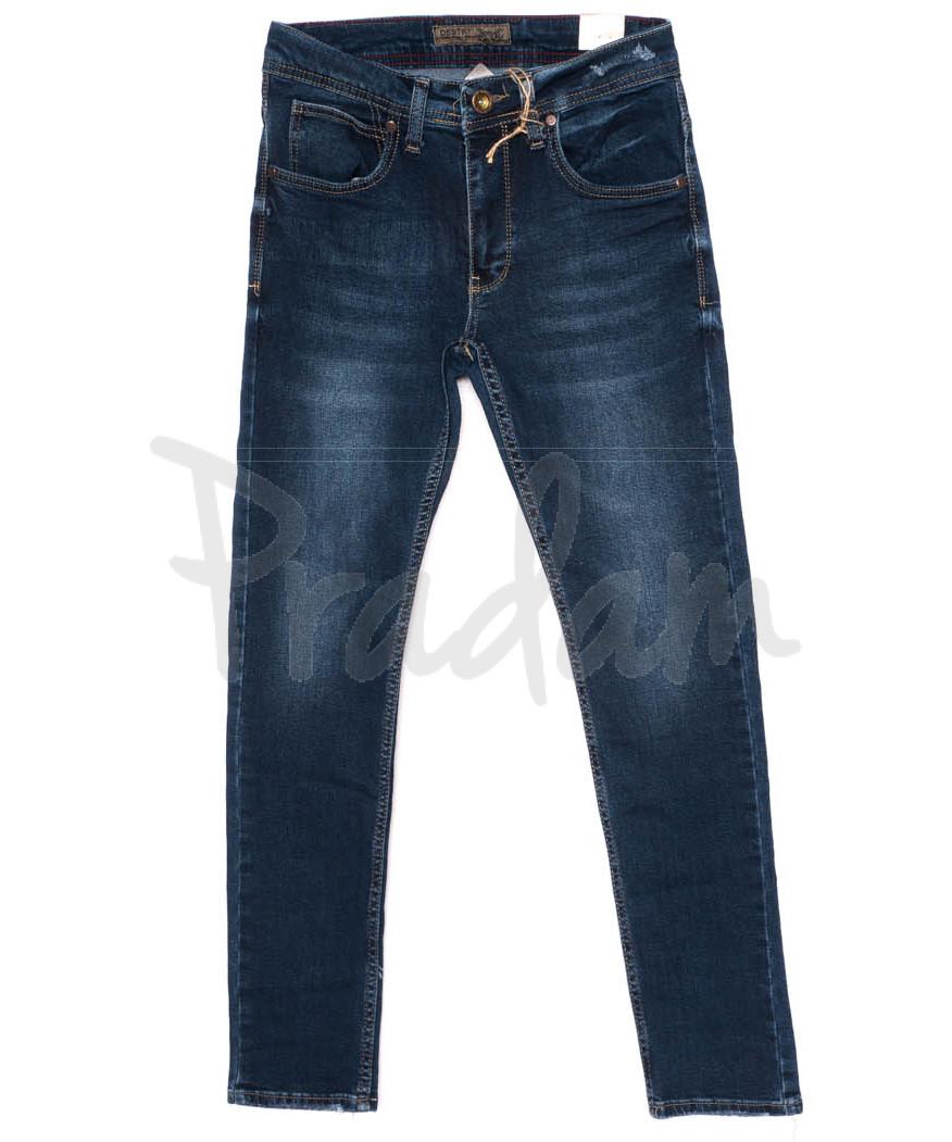 5999 Destry джинсы мужские синие осенние стрейчевые (29-36, 8 ед.)