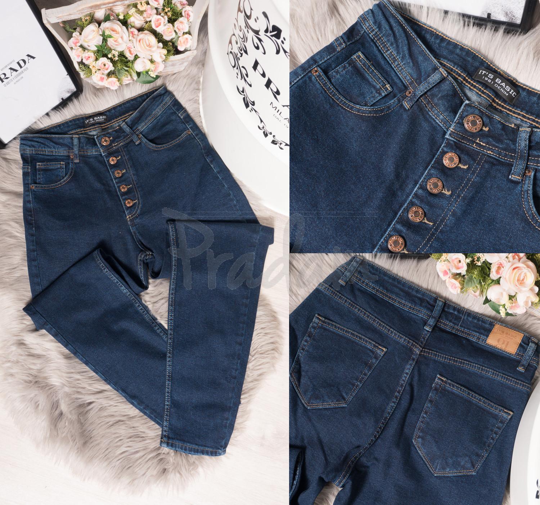 1354 enzim Its Basic (32-40, норма, 6 ед.) джинсы женские осенние стрейчевые