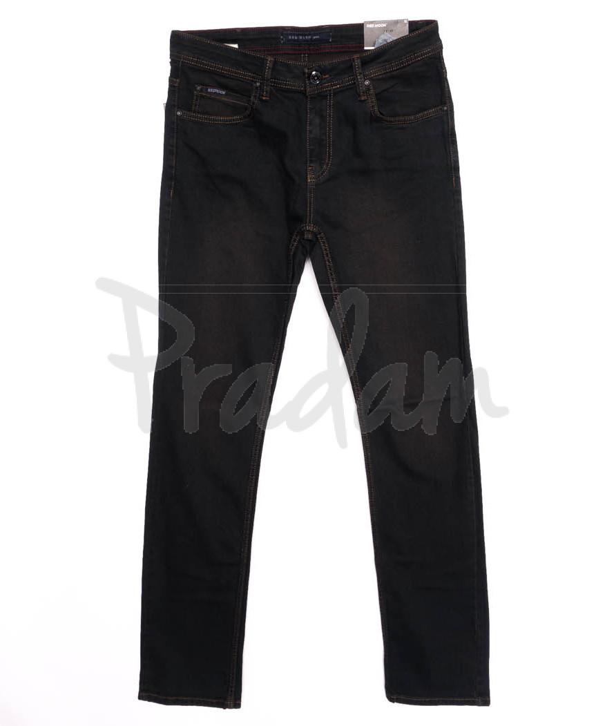 0794 Red Moon джинсы мужские темно-синие осеннии стрейчевые (31-38, 6 ед.)