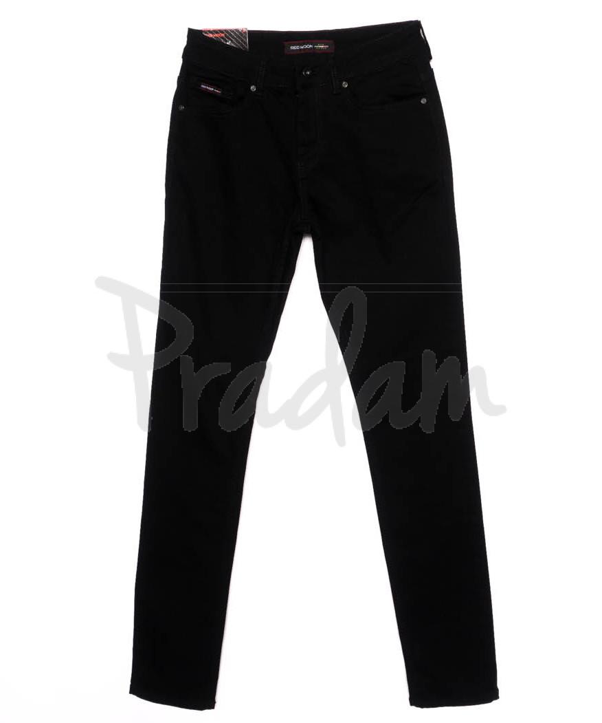 0463 Red Moon джинсы мужские молодежные черные осеннии стрейч-котон (28-34, 6 ед.)