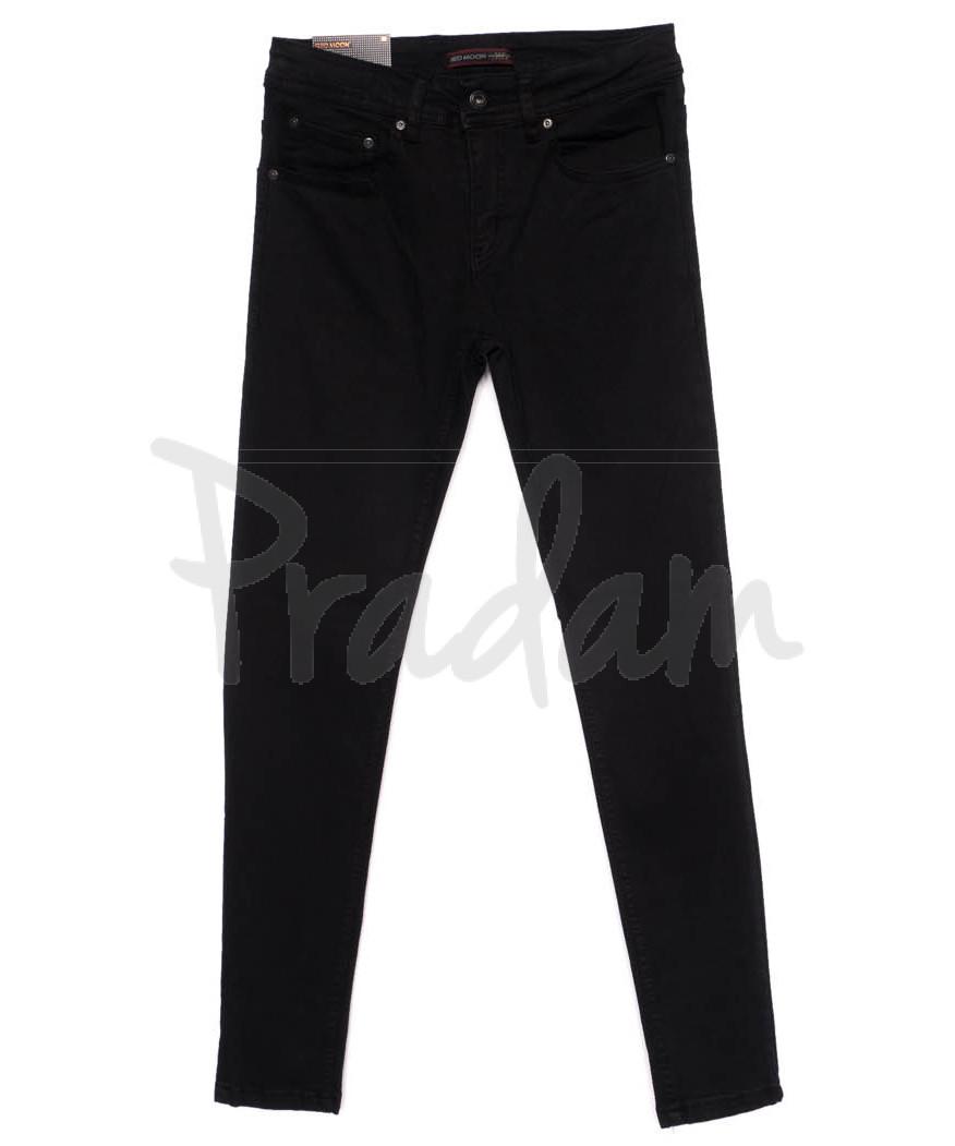 0552 Redmoon джинсы мужские черные осеннии стрейчевые (29-36, 7 ед.)