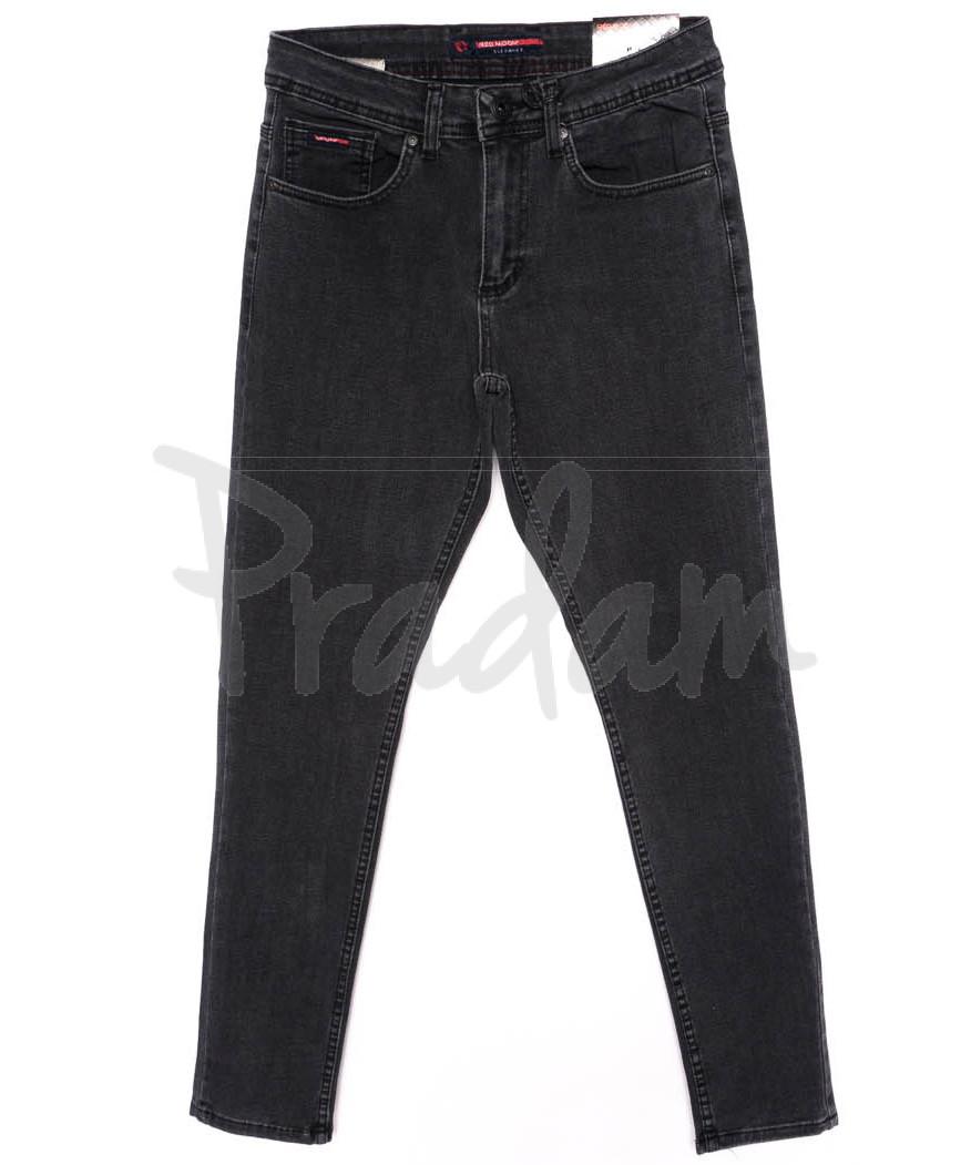 0474 Red Moon джинсы мужские темно-серые осеннии стрейчевые (29-36, 7 ед.)