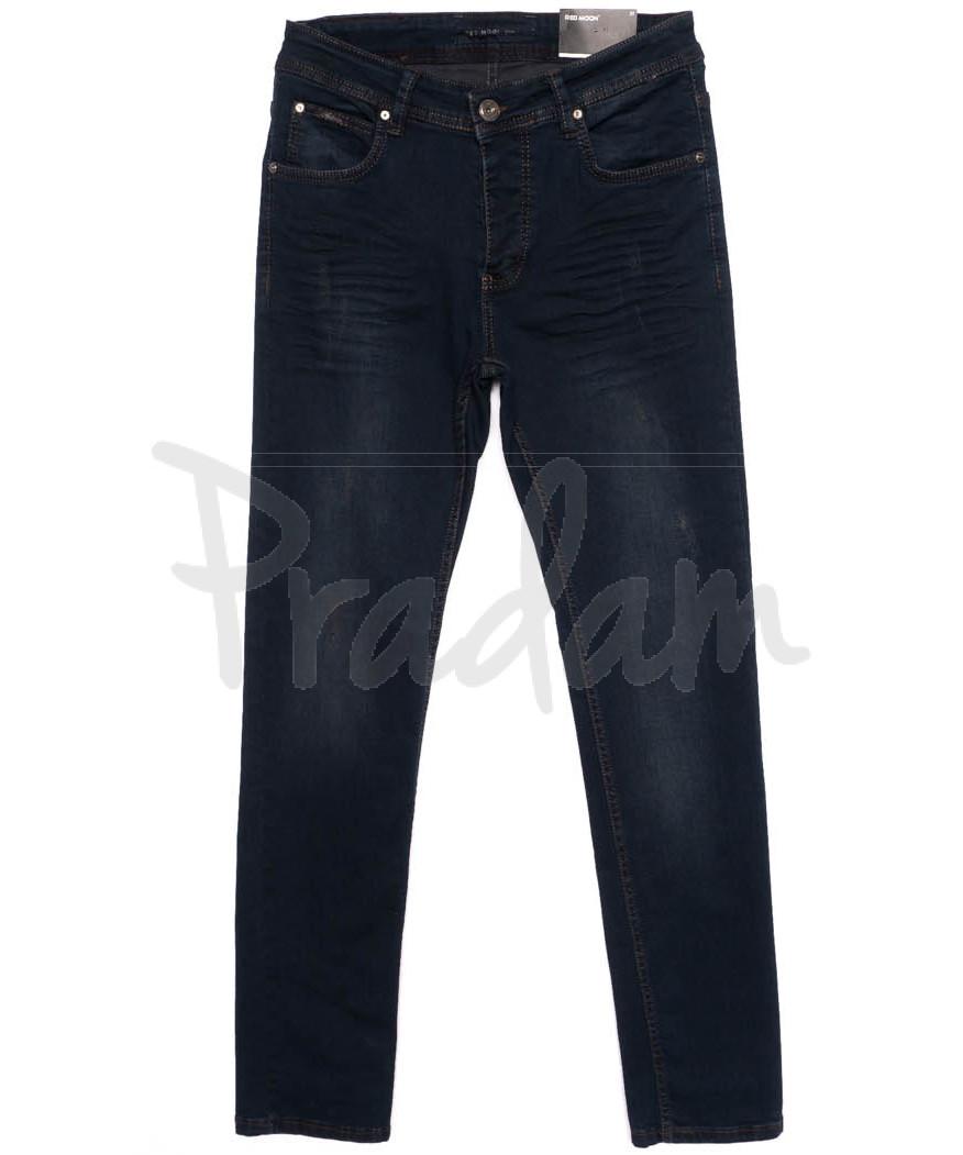 0292 Red Moon джинсы мужские синие осеннии стрейчевые (31-38, 6 ед.)