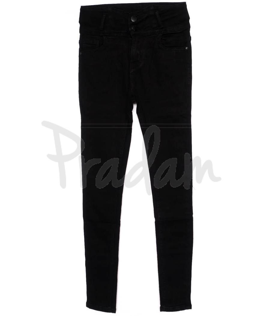 3359 New jeans американка черная осенняя стрейчевая (25-30, 6 ед.)