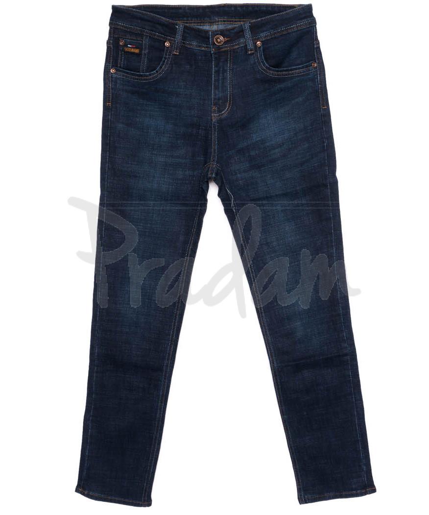 3010 DSOUAVIET джинсы мужские батальные синие осенние стрейчевые (32-38, 8 ед.)