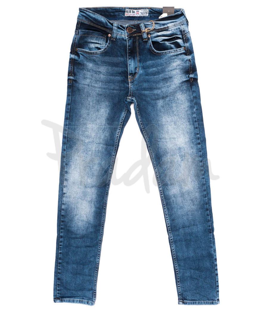 6167 Blue Nil джинсы мужские синие осенние стрейчевые (29-36, 8 ед.)