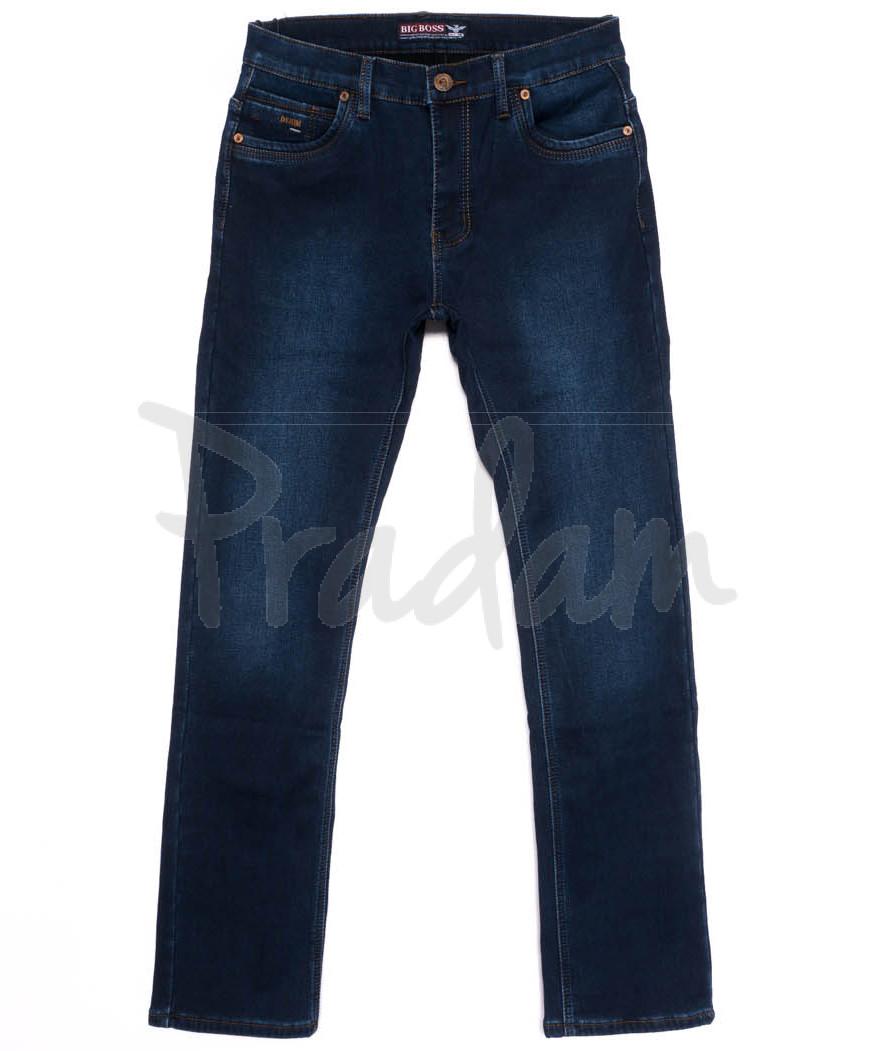 3720 Bigboss джинсы мужские полубатальные на флисе зимние стрейчевые (32-38, 8 ед.)