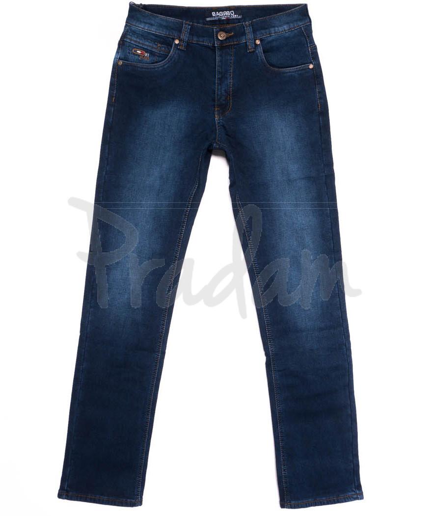 2272 Bagrbo джинсы мужские полубатальные на флисе зимние стрейчевые (32-38, 8 ед.)