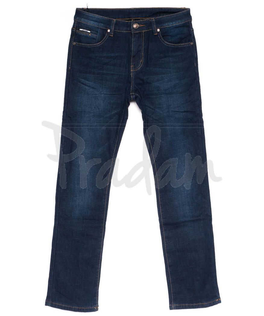3550 New jeans джинсы мужские синие на флисе зимние стрейчевые (29-38, 8 ед.)