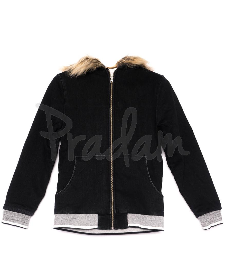 0910-7 X куртка женская модная осенняя стрейчевая (S-M, 4 ед.)