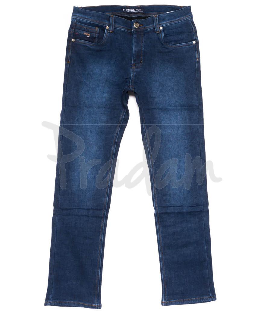 4255 Bagrbo джинсы мужские на флисе зимние стрейчевые (29-38, 8 ед.)